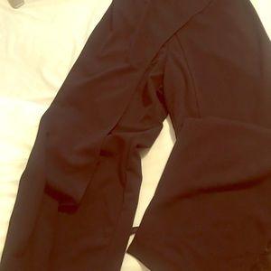 Black tummy hiding jumpsuit